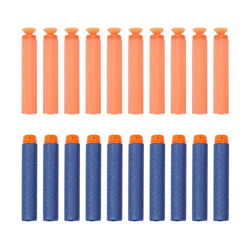 newisland-200pcs-foam-darts-with-blue-round-head-and-orange-suction-refills-pack-for-any-kid-bullets