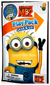 Despicable Me 2 Play Pack: Crayons Stickers & Coloring Book