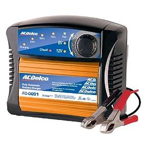 【クリックで詳細表示】ACDelco(エーシーデルコ) 全自動バッテリー充電器 6V/12V用 AD-0001