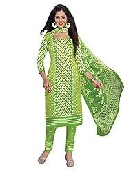 AASRI Women Cotton Unstitched Salwar Suit - B015N8OXZ6