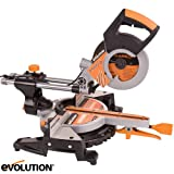 Evolution Rage3-S300 210mm TCT Multipurpose Sliding Mitre Saw 110v