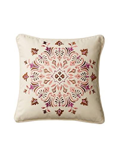 Echo Aberdeen Pillow, Ivory