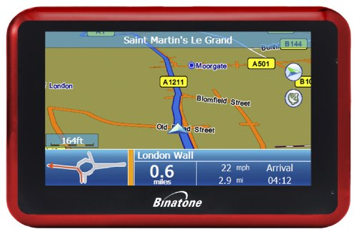 Binatone G430 Widescreen Satellite Navigation