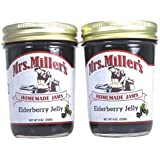 Mrs Millers Elderberry Jelly (Amish Made) ~ 2 / 9 Oz. Jars