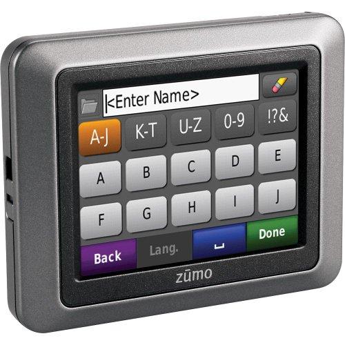 Garmin zumo 220 3.5-Inch Bluetooth Motorcycle GPS Navigator