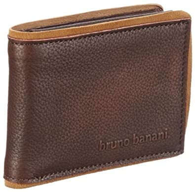 Bruno Banani Vancouver_3 W 320_917, Herren Portemonnaies, Braun (braun), 11x8x2 cm (B x H x T)