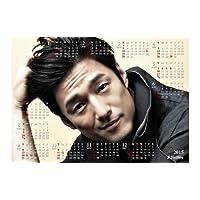 カレンダー 2015年「平成27年」 【韓国俳優】 JiJinHee チ・ジニ 2015年 マグネットカレンダー [mc-hee01]
