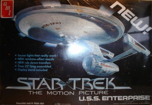 AMT Star Trek The Motion Picture U.S.S. Enterprise NCC-1701 1979 Vintage Model Kit