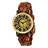 #8: Vego Analogue Brown Dial Women's Watch - VG1000