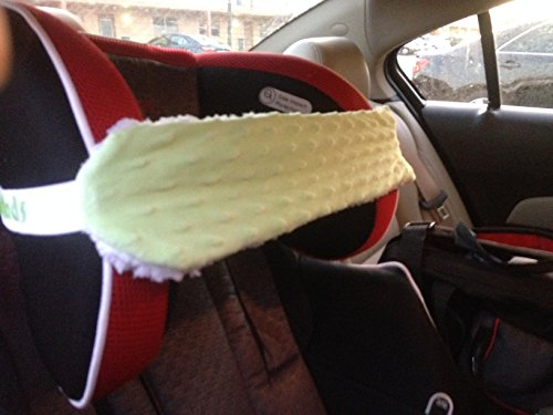 Nonods Car Seat Support Pillow Head Band (Green/white ...