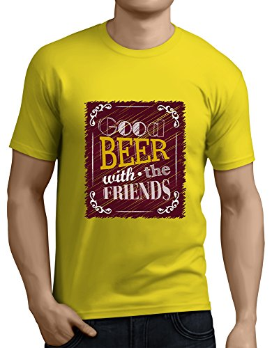 Good Beer With Good Friends New Men's T Shirt Made by Coco design