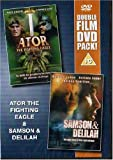 Miles O Keefe Ator The Fighting Eagle / Samson & Delilah [DVD]