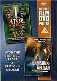 Miles O Keefe Ator The Fighting Eagle / Samson & Delilah [DVD]