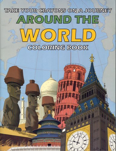 [Around the World Magic Coloring Book Mind Reading Trick - Easy Mentalism] (Easy Around The World Costumes)