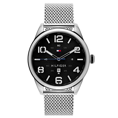 Tommy-Hilfiger-Mens-1791161-Analog-Display-Quartz-Silver-Watch