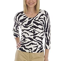 Product Image Merona® Collection Printed Cardigan - Zebra
