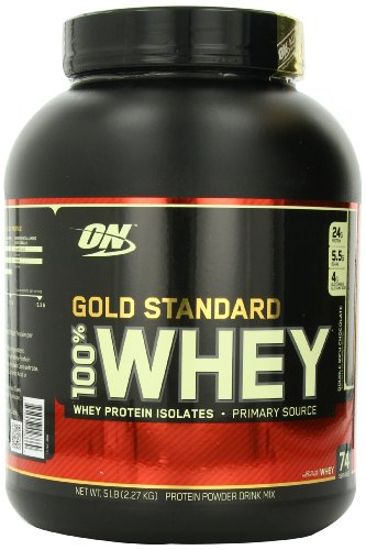 Optimum Nutrition 100% Whey Gold Standard, Double Rich Chocolate, 5 Pound - abouther.net