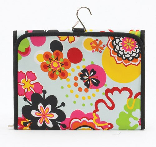Flower Power Hanging Cosmetic Bag