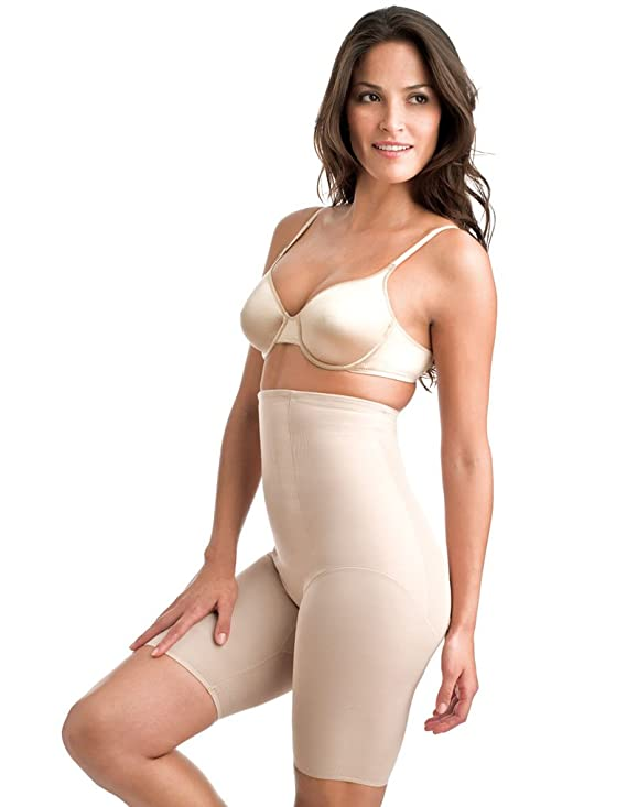 Miraclesuit Shapewear Classic's Nude Hi-Waist Thigh Slimmer