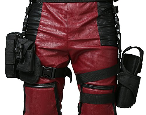 Wade Wilson Belt Tactical Holster Halloween Cosplay Costume