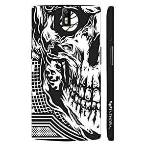 Oppo Find 7 Skull 2 designer mobile hard shell case by Enthopia