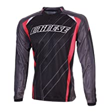 DAINESE Claystone Downhill Jersey Gentlemen black/anthracite/red black/grey (Size: S)