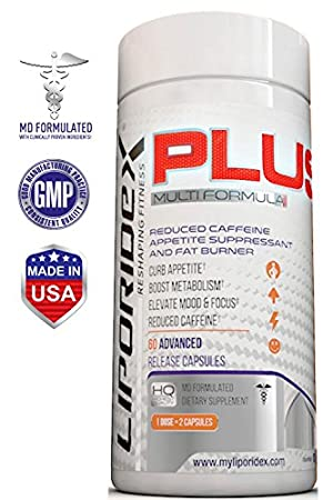 Liporidex PLUS Weight Loss Supplements w/ Green Coffee