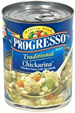 Progresso Traditional Chickarina Soup 19 oz Pack of 12