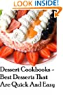 Dessert Cookbooks - Best Desserts That Are Quick And Easy