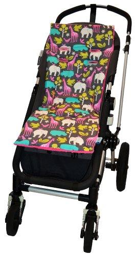 Tivoli Couture Luxury Memory Foam Stroller Liner, At The Zoo front-810545