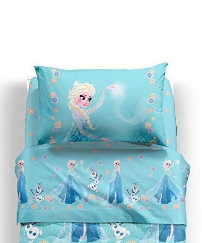 CALEFFI completo lenzuola FROZEN Magia letto 1 piazza Disney nuova collezione