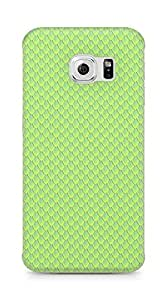 Amez designer printed 3d premium high quality back case cover for Samsung Galaxy S6 Edge (Snake scales close up)