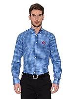 Polo Club Camisa Hombre Checks (Azul)