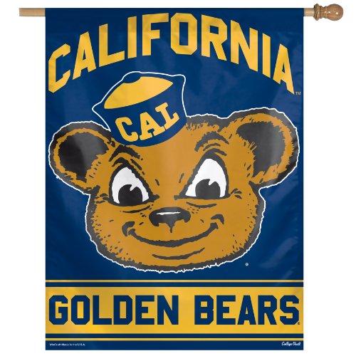 Ncaa California Golden Bears Vertical Flag, 27 X 37-Inch