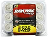 Rayovac ALD-12 UltraPRO Alkaline D Batteries, 12-Pack