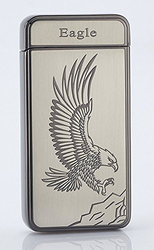 best-electric-lighter-cjoy-usb-rechargeable-electronic-arc-lighters-no-flame-eagle-black-gifts-for-s