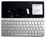HP Mini 210-2001SA Silver Frame Silver UK Replacement Laptop Keyboard