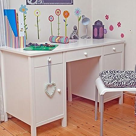 Children's Desk Writing Table Sugar & Spice White Kids Bedroom Furniture