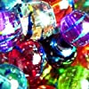 Pretty Pebbles Beads - 100 Drawbench Glass Beads 8mm Colour Mix