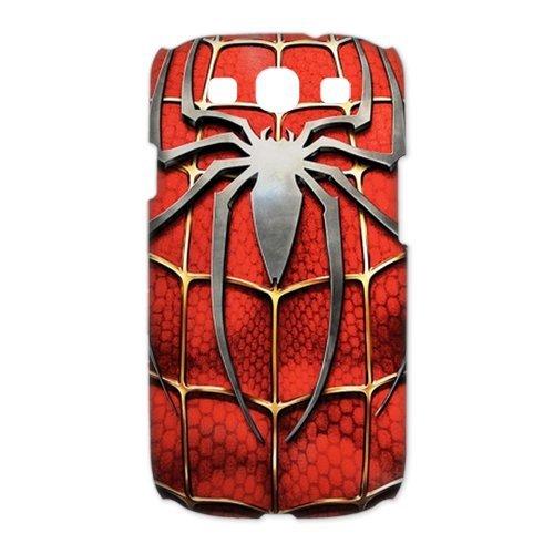 ePcase 3D-printed Hard Case Cover for Samsung Galaxy S3 I9300 - Super Spider-man Symbol Design