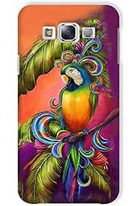 IndiaRangDe Hard Back Cover FOR Samsung Galaxy E7