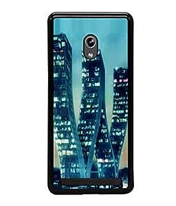 printtech W Shaped Building Back Case Cover for Asus Zenfone 5 , Asus Zenfone 5 A500CG