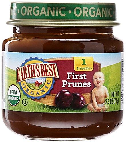 Earth's Best Earth's Best Organic First Prunes, 2.5 oz - 1