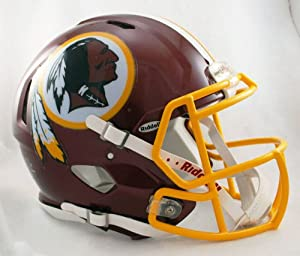 NFL Washington Redskins Speed Authentic Football Helmet by Riddell