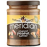 6-Pack Meridian Natural Crunchy Peanut Butter