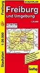 Freiburg und Umgebung 1 : 20 000 Stad...
