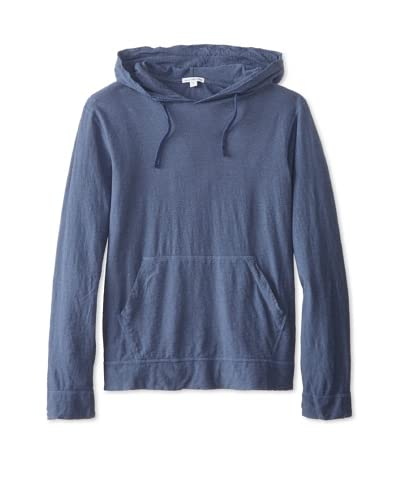James Perse Men's Overdyed Heathered Hoodie