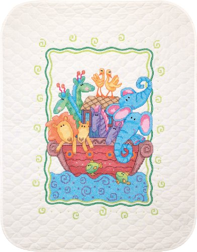 Dimensions Needlecrafts Stamped Cross Stitch, Noah'S Ark Quilt front-934854