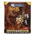 Mattel DC Universe Batman / Clayface Figures 2-Pack