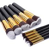 Kingtop Premium Synthetic Kabuki Makeup Brush Set Cosmetics Foundation Blending Blush Eyeliner Face Powder Brush Makeup Brush Kit